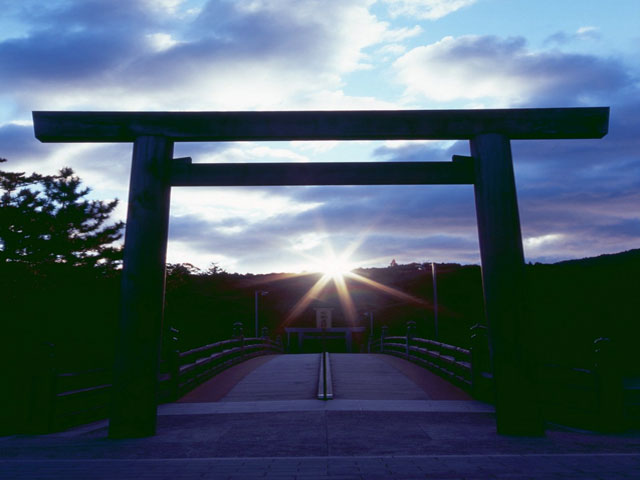 伊勢神宮写真集 昇陽