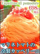 冷製パスタ マリネトマトのカッペリーニ