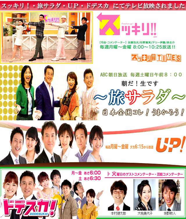 2014テレビ放映